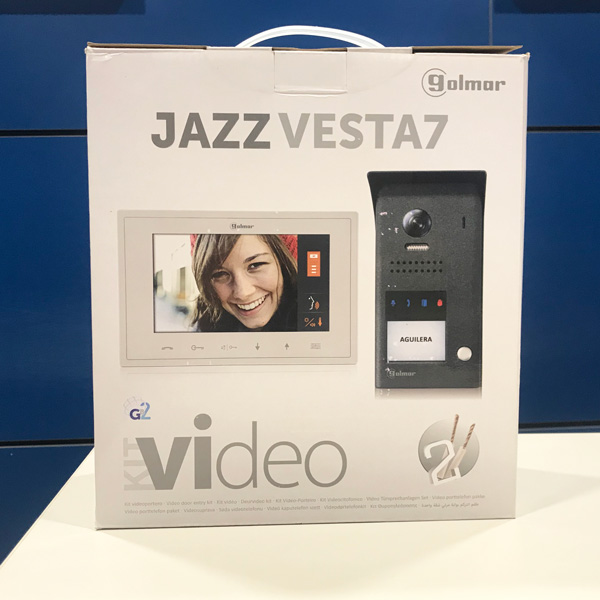 Videoporter Golmar Jazz Vesta7